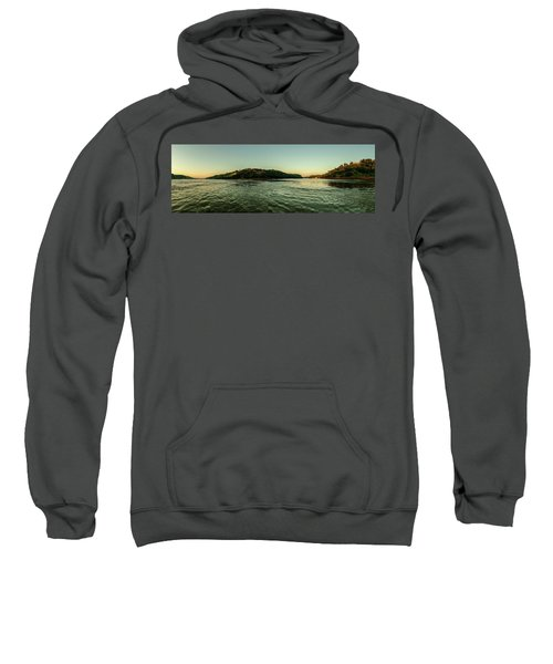 Sunset River Confluence Sweatshirt