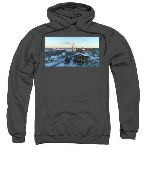 Sunset Stillwater Old Court House Sweatshirt