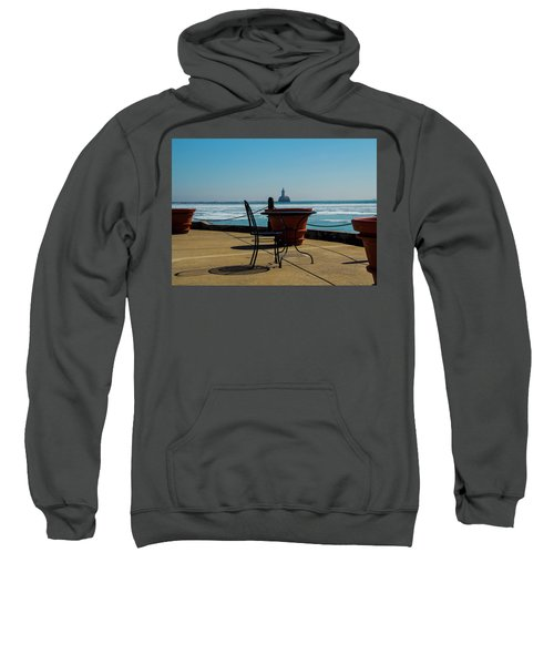 Table For One Sweatshirt