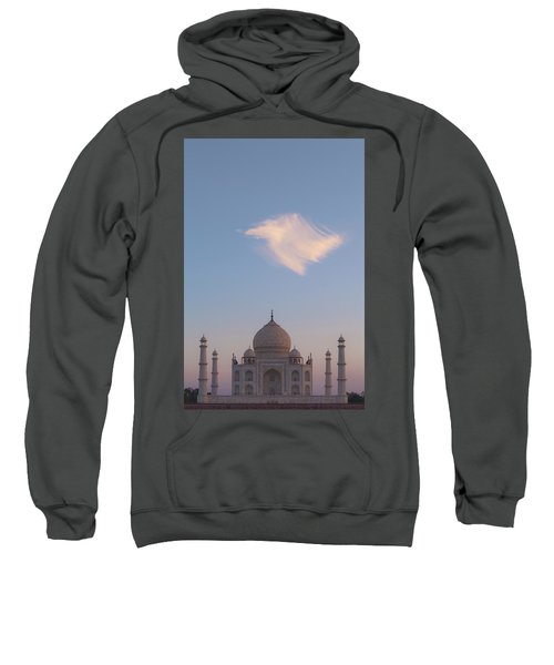 Taj Mahal At Sunset Sweatshirt