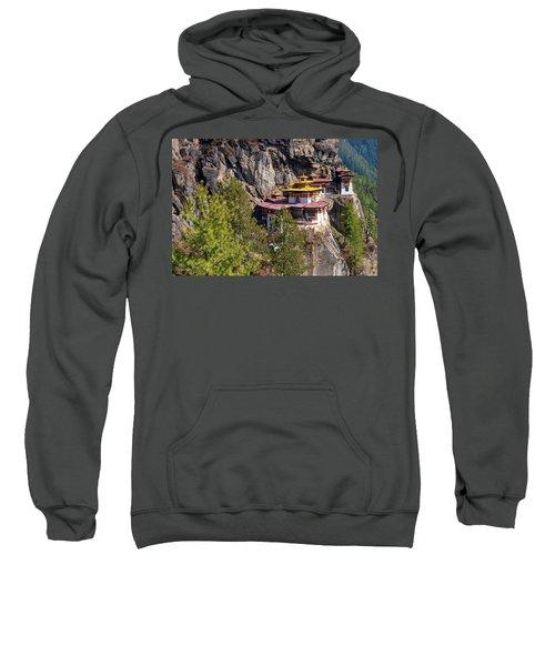 Taktsang Monastery  Sweatshirt