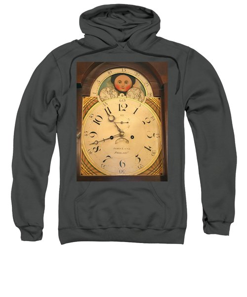 Tall Case Clock Face, Around 1816 Sweatshirt