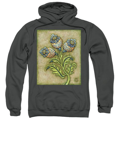 Tapestry Flower 6 Sweatshirt