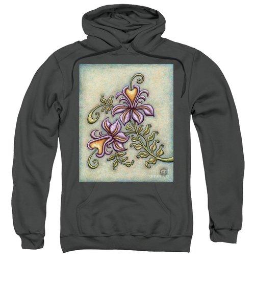 Tapestry Flower 8 Sweatshirt