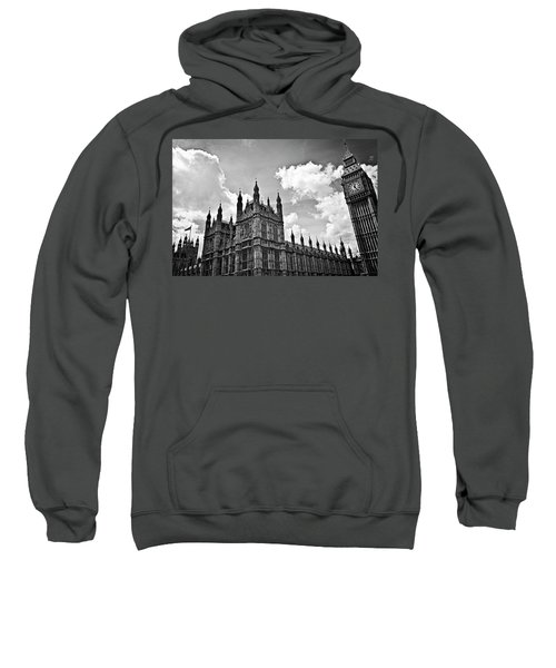 Tea Time With Big Ben At Westminster - Classic Edition Sweatshirt