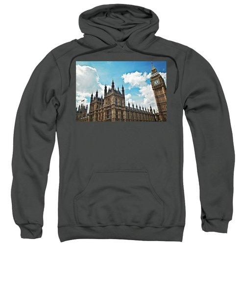 Tea Time With Big Ben At Westminster II Sweatshirt