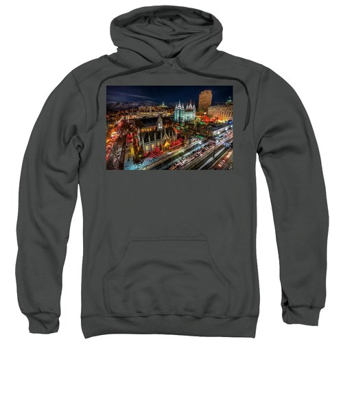 Temple Square Lights Sweatshirt