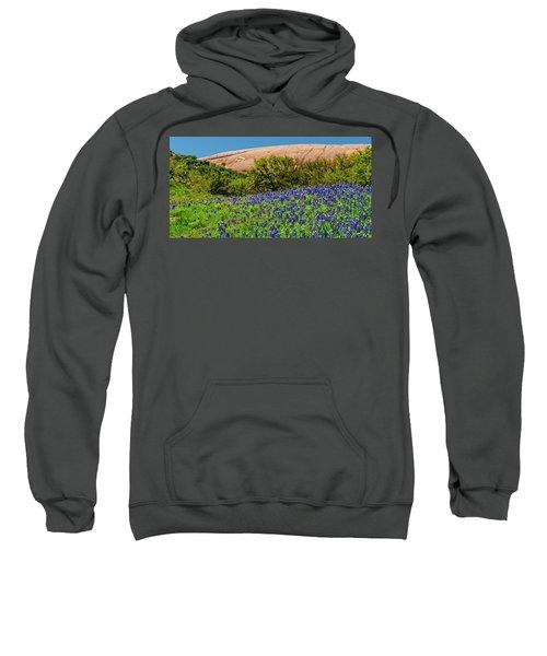 Texas Bluebonnets And Enchanted Rock 2016 Sweatshirt