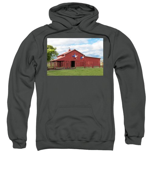 Texas Red Barn Sweatshirt