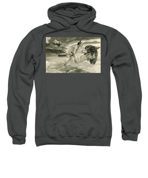 The Abduction Of Prometheus, 1894 Sweatshirt