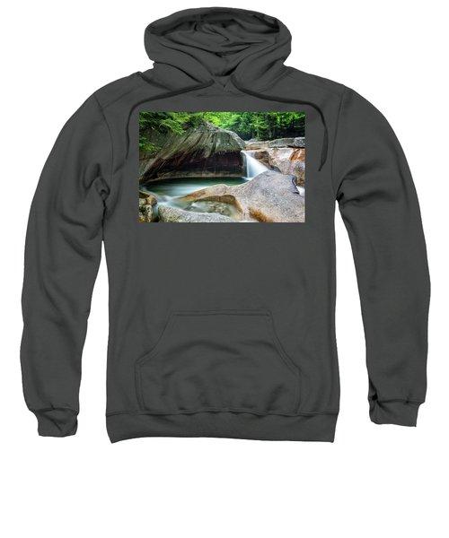 The Basin, Springtime Nh Sweatshirt