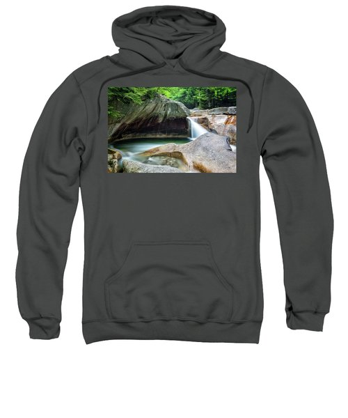 The Basin, Springtime Nh Sweatshirt