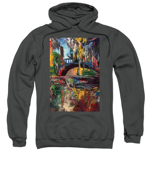 The Bridge At City Park New Orleans Sweatshirt