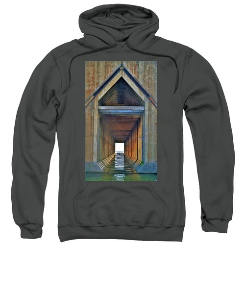 The Cathedral Ore Dock Of Marquette Sweatshirt