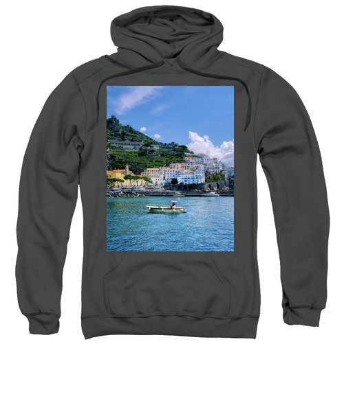 The Colorful Amalfi Coast  Sweatshirt