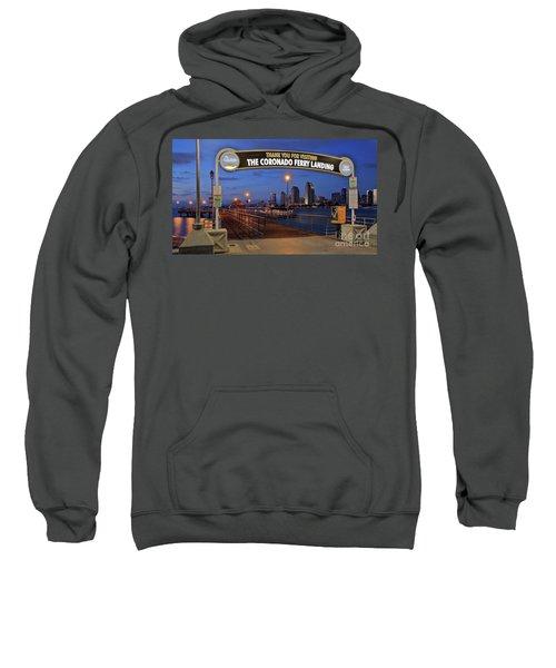 The Coronado Ferry Landing Sweatshirt