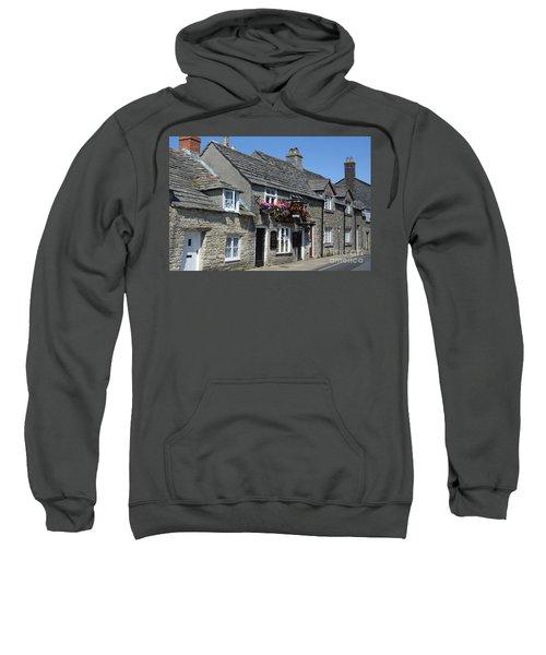 The Fox Inn At Corfe Castle Sweatshirt