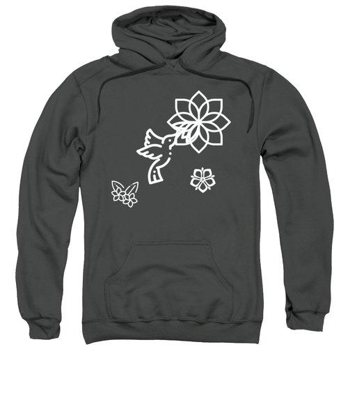 The Kissing Flower On Flower Sweatshirt
