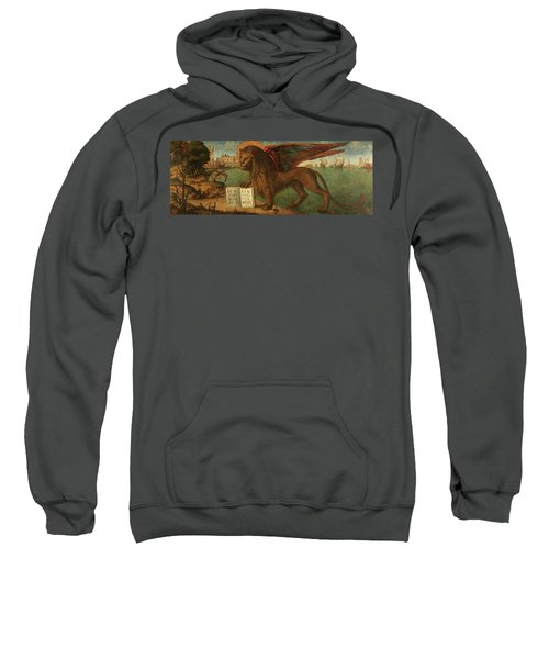 The Lion Of Saint Mark, 1516 Sweatshirt