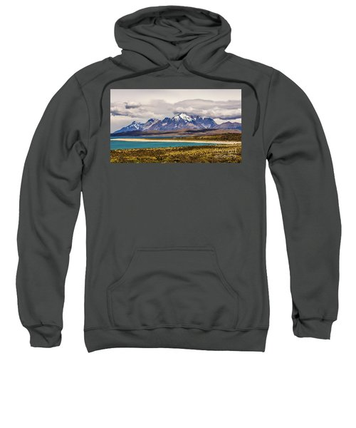 The Mountains Of Torres Del Paine National Park, Chile Sweatshirt