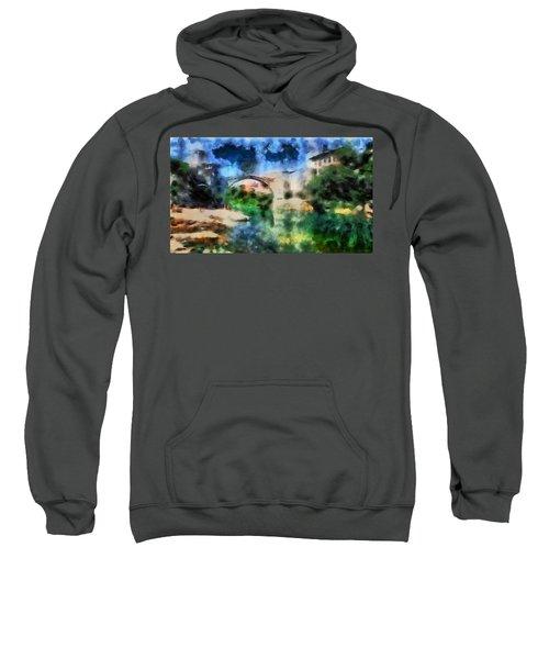The Old Bridge Of Shari Most Sweatshirt