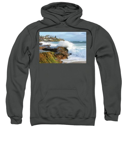 The Sea Was Angry That Day My Friends Sweatshirt