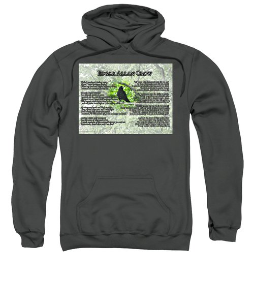 The Story Of Edgar Allan Crow Sweatshirt