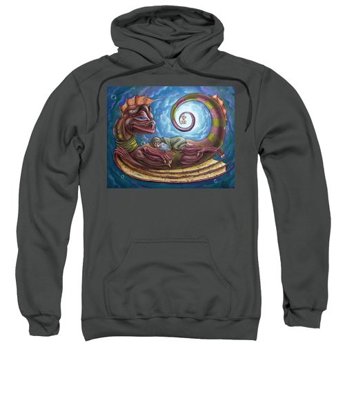 The Third Dream Of A Celestial Dragon Sweatshirt