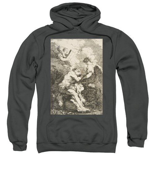 The Vision Of Saint Jerome Sweatshirt