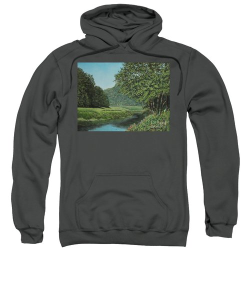 The Wye River Of Wales Sweatshirt