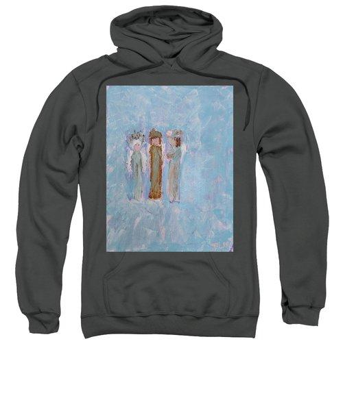 Three Friendly Angels Sweatshirt