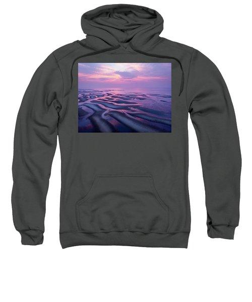 Tidal Flats Sunset Sweatshirt