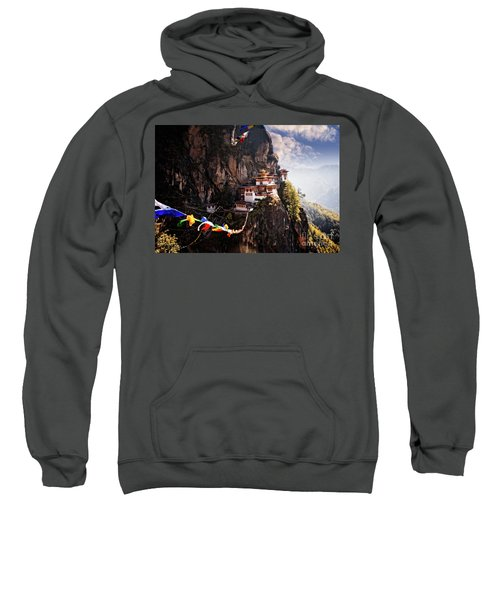 Sweatshirt featuring the photograph Tigers Nest 2 by Scott Kemper