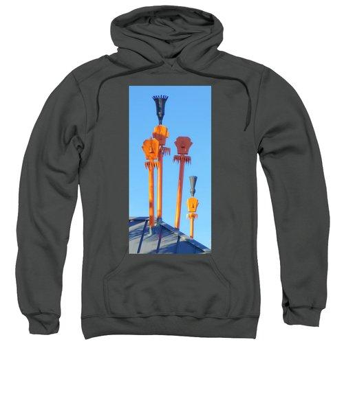 Tiki Palm Springs Sweatshirt