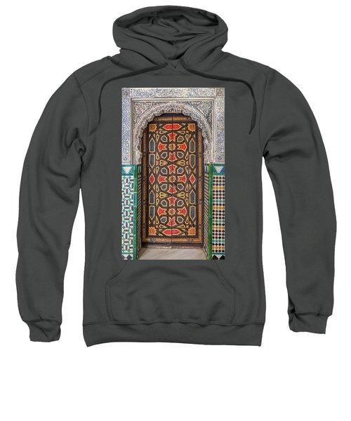 Tiled Door Of Sevilla Sweatshirt