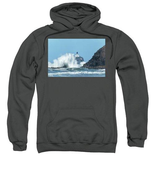 Tillamook Rock Light House, Oregon - Terrible Tilly Sweatshirt