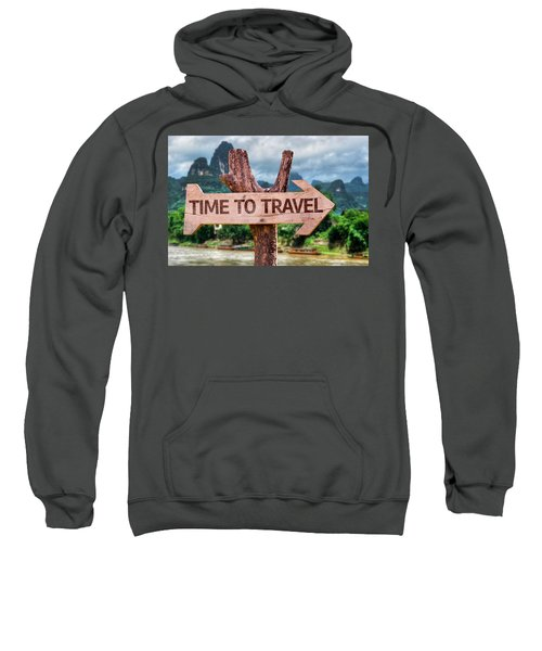 Time To Travel Sweatshirt