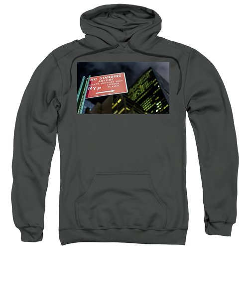 Sweatshirt featuring the photograph Times Square by Steve Stanger