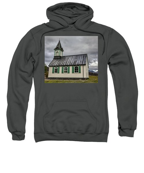 Tiny Church Of Iceland Sweatshirt