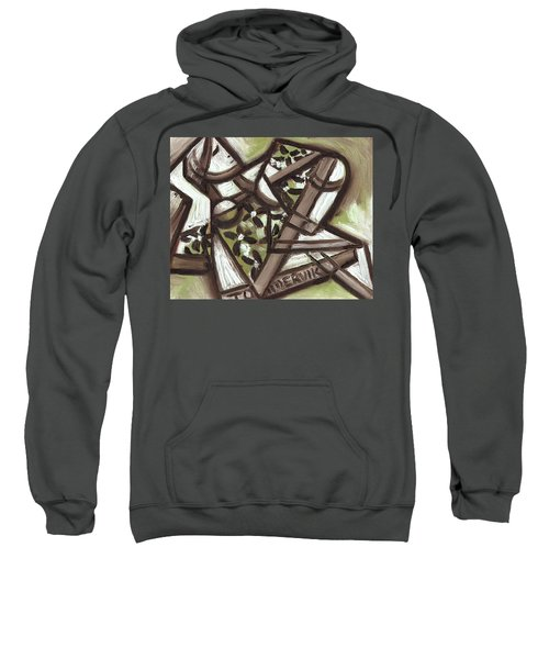 Tommervik Cubist Hawaiian Woman Art Print Sweatshirt