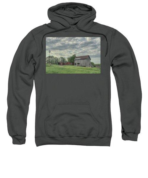 Train Cars And A Barn Sweatshirt