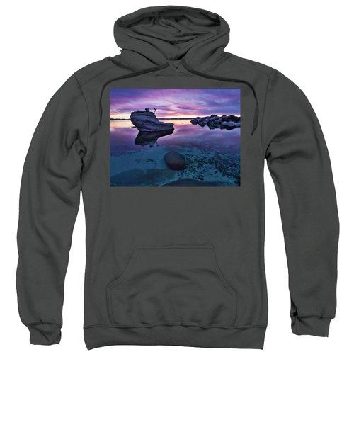 Transparent Sunset Sweatshirt