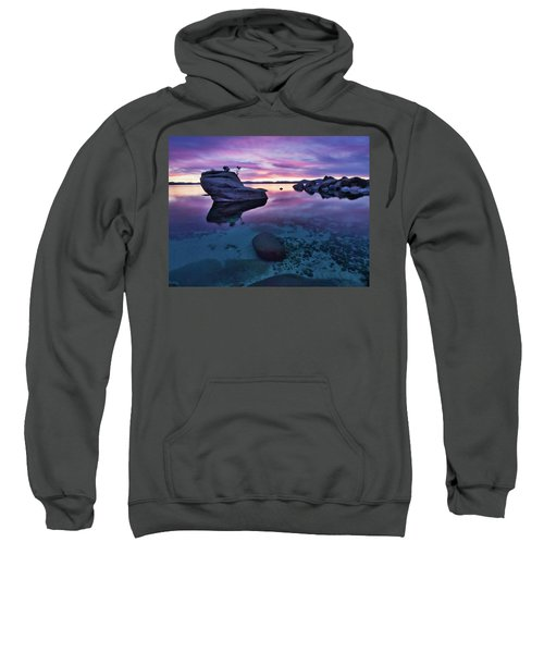 Transparent Sunset Sweatshirt