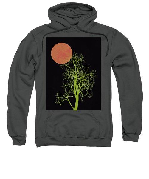 Tree And Orange Moon Sweatshirt