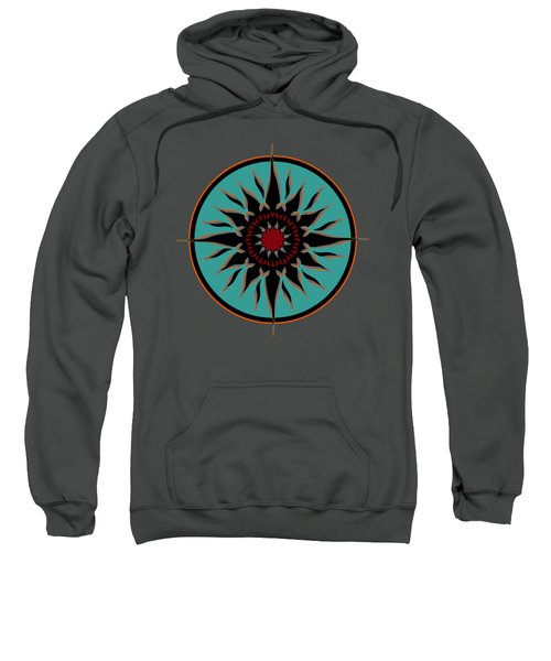 Tribal Sun Sweatshirt