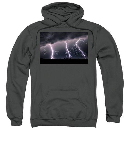 Triplets Cropped Sweatshirt