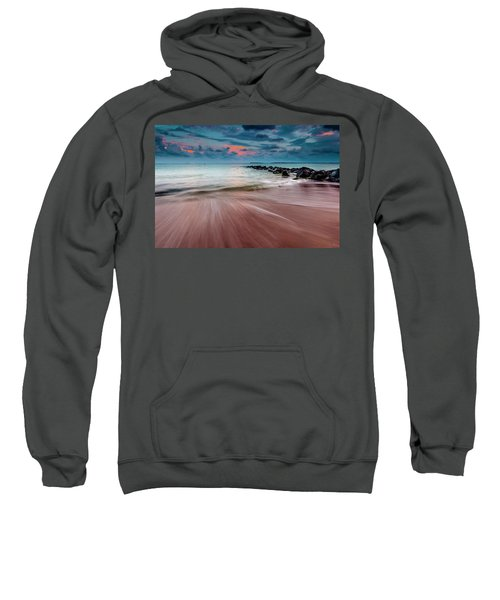 Sweatshirt featuring the photograph Tropic Sky by Evgeni Dinev
