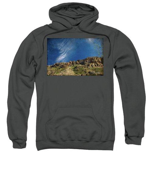 Tuscon Clouds Sweatshirt