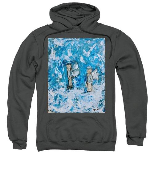 Twin Boy Angels Sweatshirt