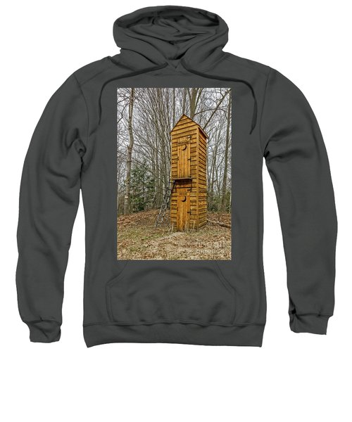 Two-story Outhouse For Voters And Politicians Sweatshirt